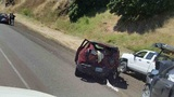 Holiday weekend I-5 traffic backed up for 3 miles after crash near Roseburg