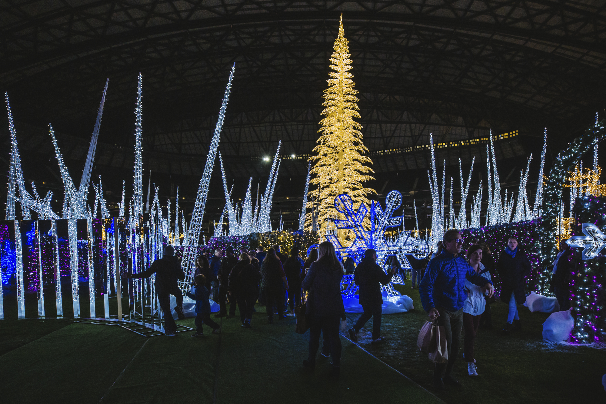 2018 Enchant Christmas at Safeco Field was a HIT. We can't wait to see what 2019 brings! (Image: Sunita Martini / Seattle Refined)
