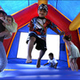 Children receive minor injuries after bounce house goes airborne