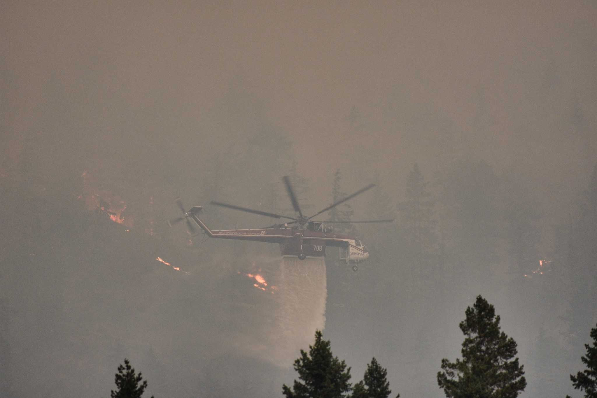 Photo by Jim Schoeggl - Kittitas Fire District 8 (Jolly Mountain Fire Info)