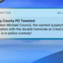 Caught? Horry County police delete tweet saying CresCom bank robbery suspect caught
