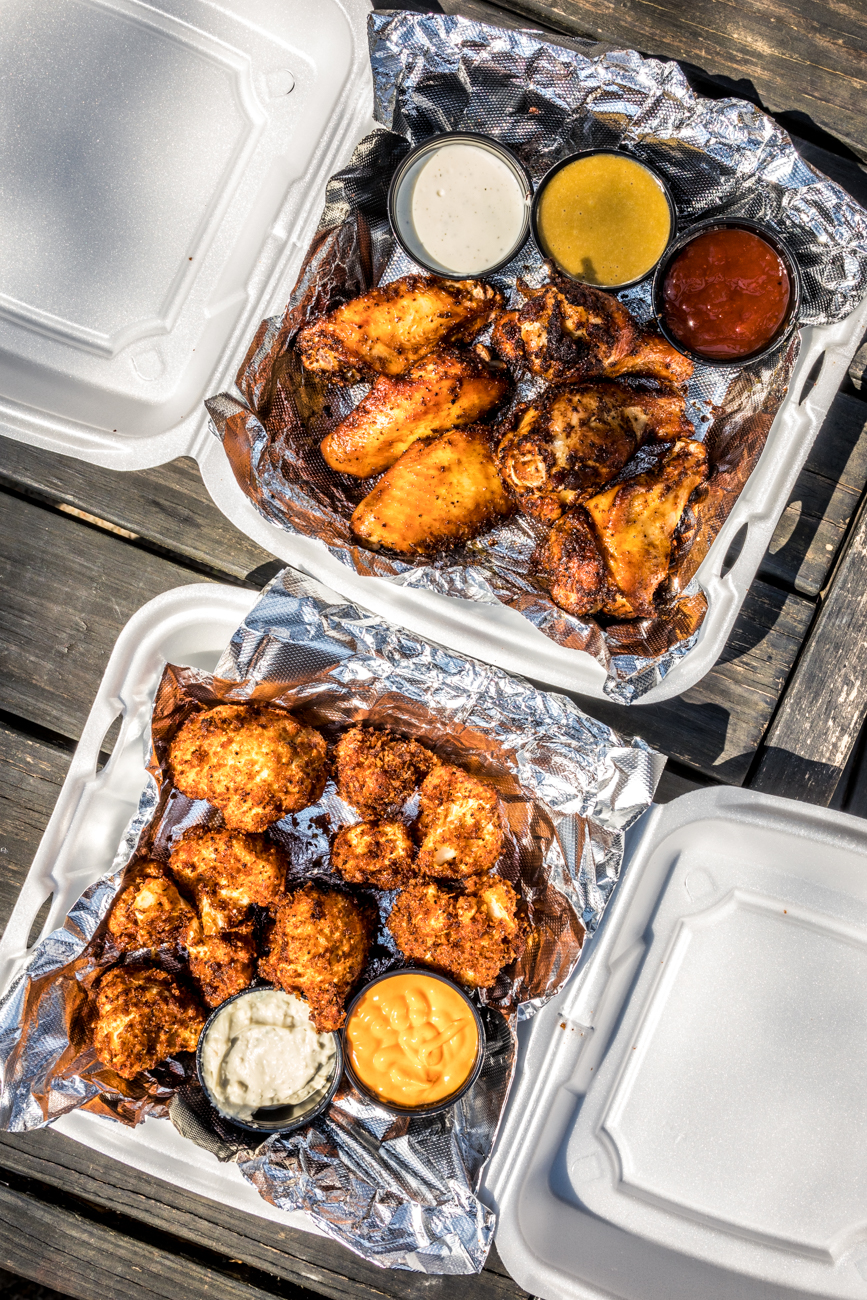 Chicken and cauliflower wings / Image: Catherine Viox{ }// Published: 5.2.20