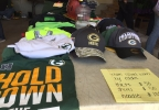 Some of the items for sale at former Green Bay Packers running back Eddie Lacy's garage sale in De Pere May 5, 2017.
