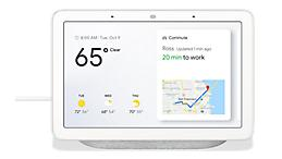 Verizon's Google Home Hub lets you see your life in one view, and get things done hands–free.{ }(Photo courtesy of Verizon)