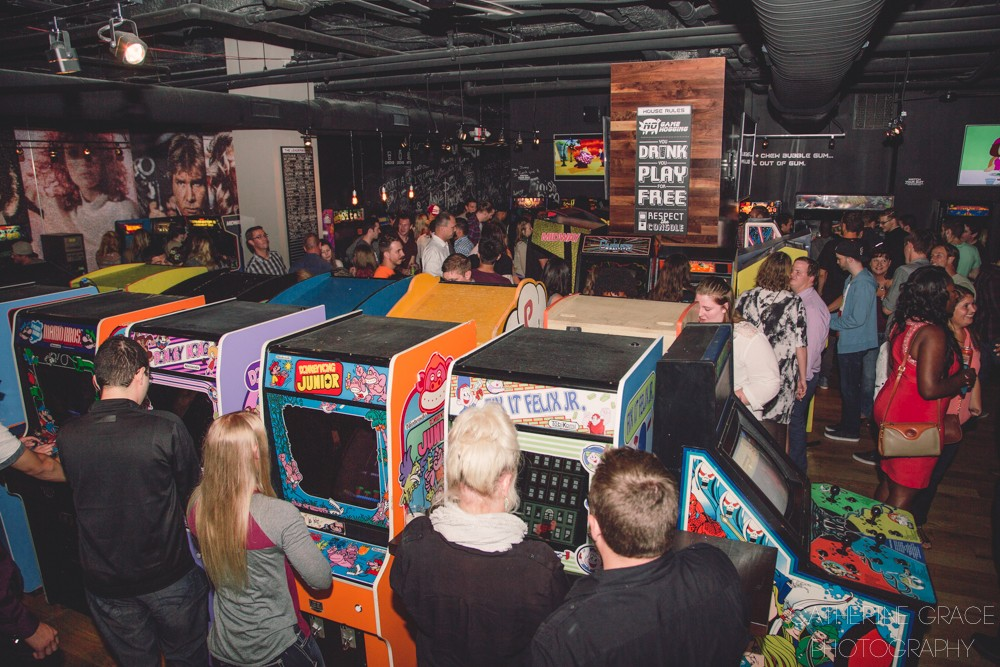 10. 16-Bit Bar+Arcade: for the totally, unabashedly geeky adult. ADDRESS: 1331 Walnut St, Cincinnati, OH 45202 / Image: Catherine Viox / Published: 1.6.17