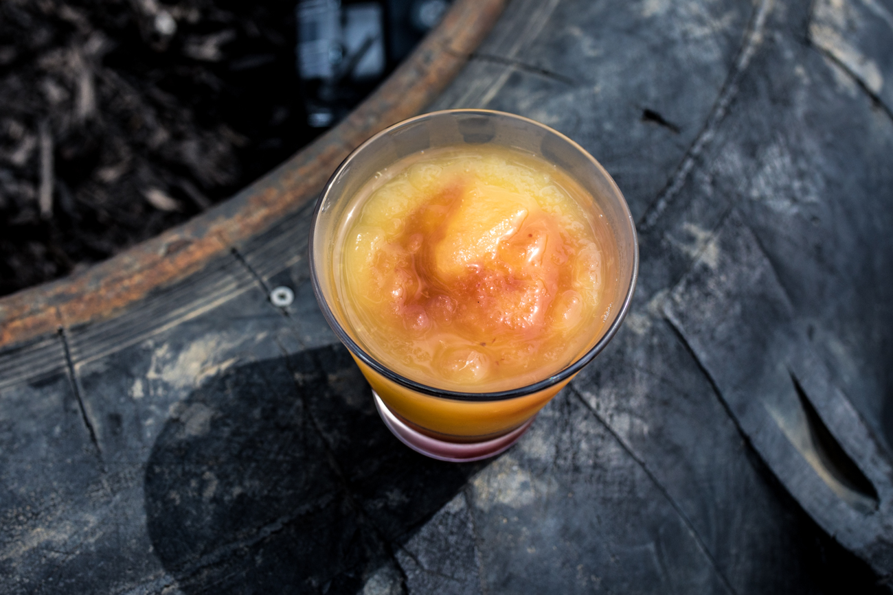 Marge's Bourbon Slush: Buffalo Trace, green tea, lemonade, and orange juice / Image: Catherine Viox // Published: 8.2.20