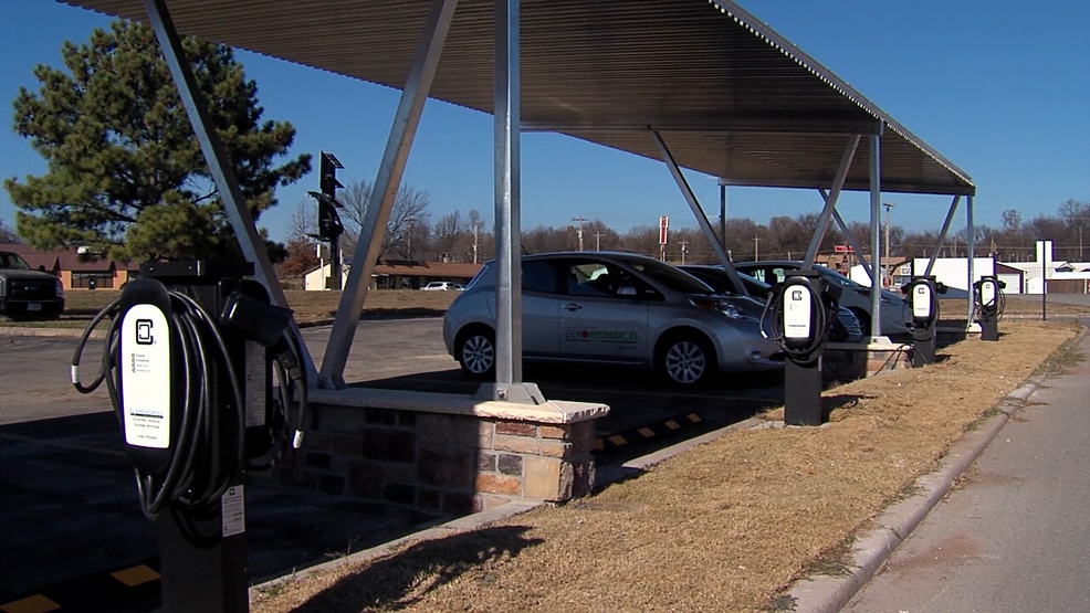 New Cherokee Nation Charging Station Adds Juice To