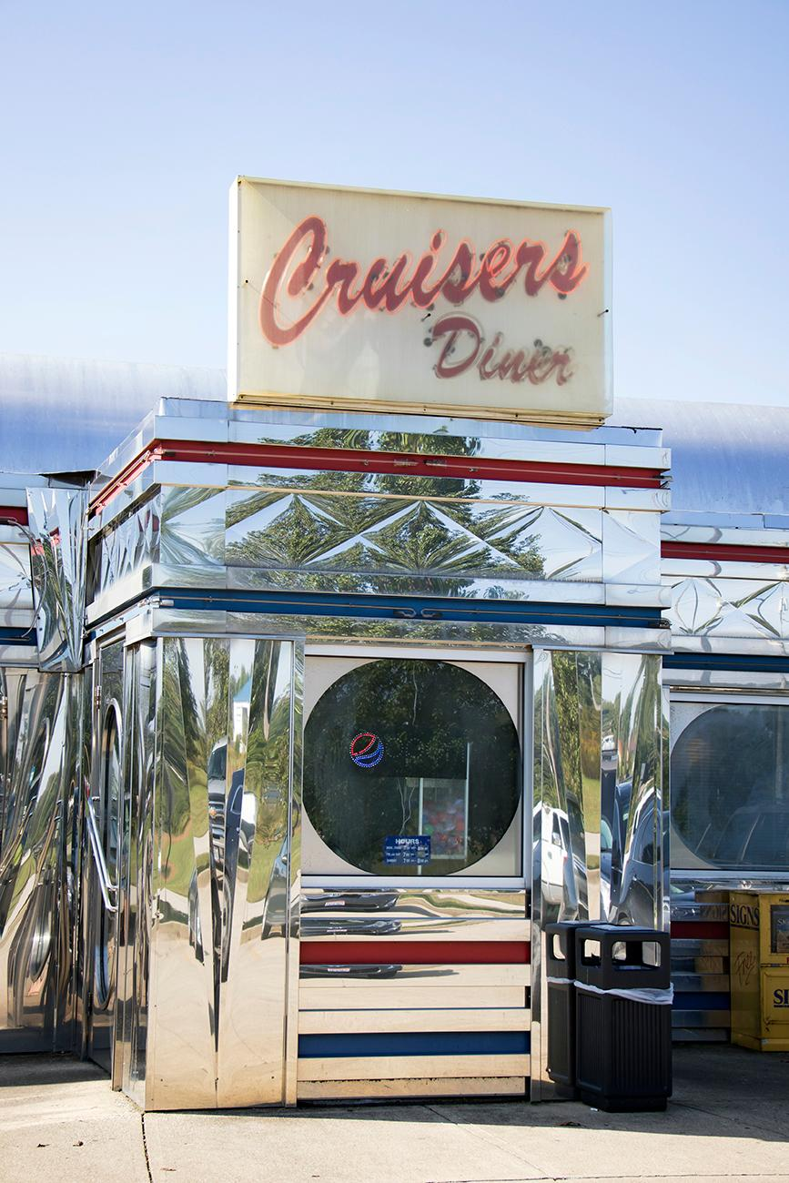 Cruisers Diner is a 1950s-style diner sitting off Route 32. Naturally, it specializes in breakfast, burgers, and homemade pies with vintage flair. It's located an hour east of Cincinnati in Seaman, OH. ADDRESS: 155 Stern Road (45679) / Image: Allison McAdams // Published: 10.8.18