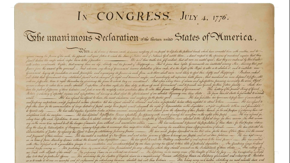 The Declaration of Independence | READ | KVAL