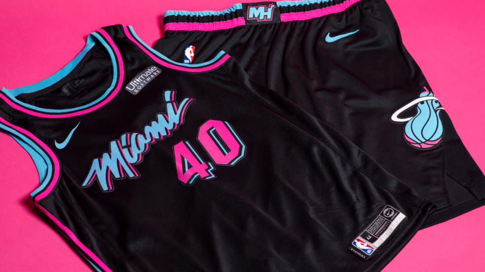 Miami Heat Reveal Black Vice Jerseys Debut To Come Friday Wpec