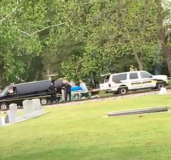 Viewer submitted photo from one of the crime scenes in Lumberton.