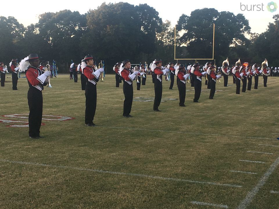 West Florida High School Marching Band. Photo: Jason Robbins
