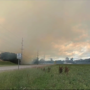 Smoke from massive mulch fire drifting dozens of miles