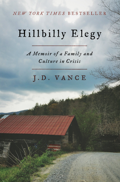 #6. Hillbilly Elegy: A Memoir of a Family and Culture in Crisis by J.D. Vance  Amazon announced the best-selling books of 2016 earlier this week! How many have you read? (Image: Amazon.com)