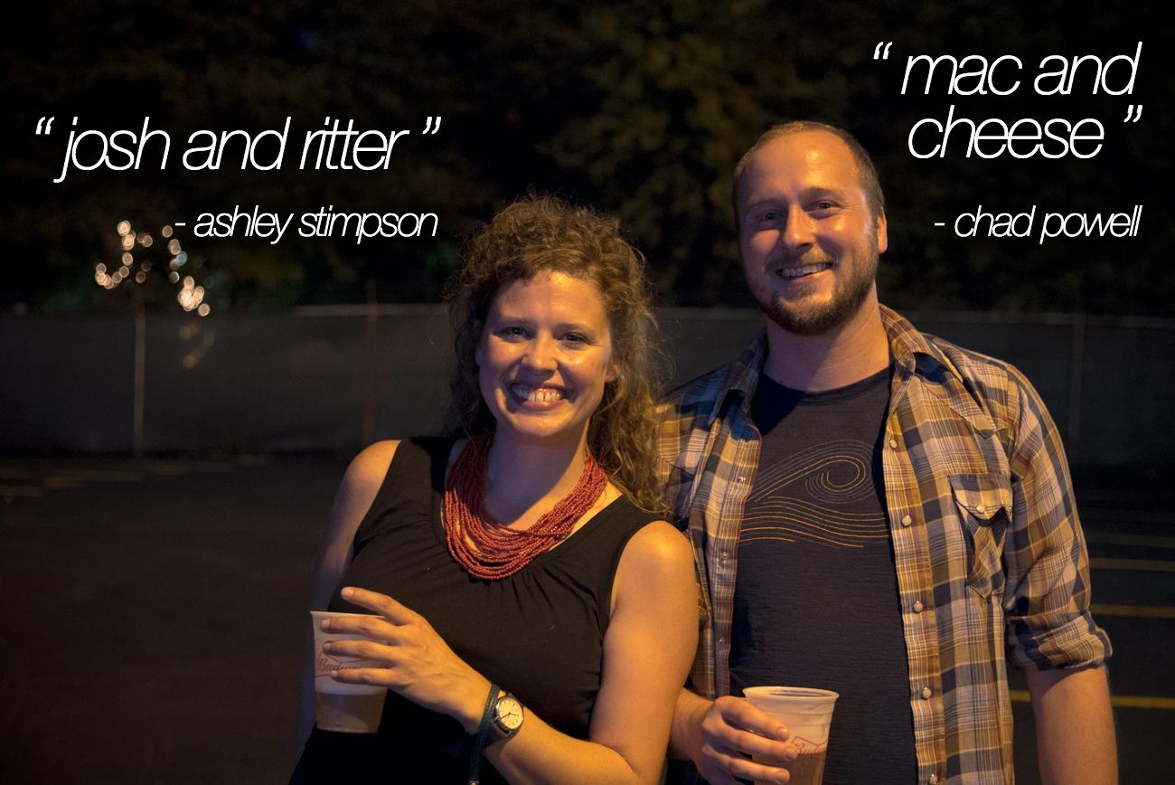 "(from left) ""Josh And Ritter"" - Ashley Stimpson, ""Mac And Cheese"" - Chad Powell / Image: Phil Armstrong, Cincinnati Refined"