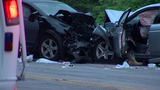 Police investigate head-on crash on Columbia Parkway
