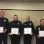 Amarillo police officers receive Life Saving Awards from Chief Ed Drain