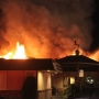 Firefighters battle two-alarm blaze at historic Old Village Restaurant