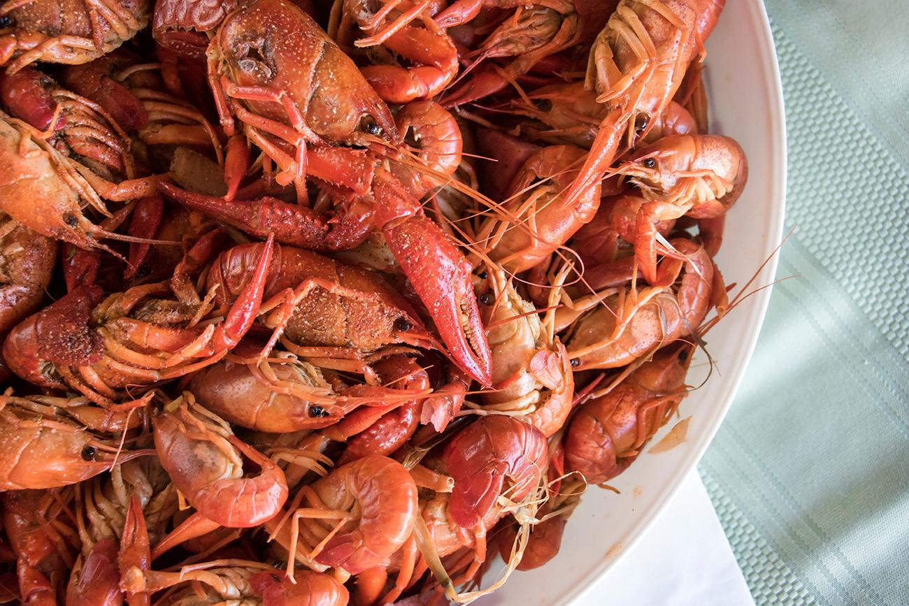 Crawfish boil / Image: Allison McAdams // Published: 3.7.18
