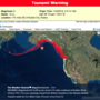 Tsunami Watch lifted along the U.S. west coast