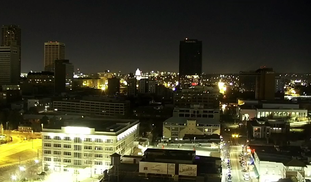 A power outage left parts of downtown Little Rock in darkness Tuesday night.<p></p>