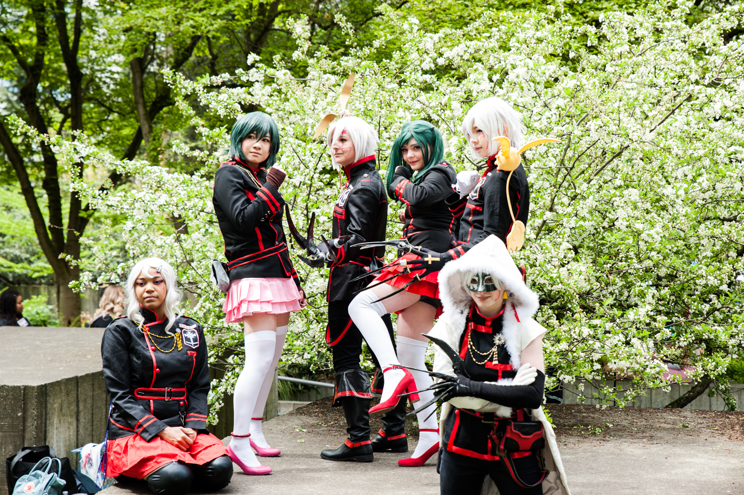 Attendees dress in their creative and fun cosplay for Sakura-Con, the three day anime convention at the Washington State Convention Center. Sakura-Con is the oldest and most well attended anime convention in the Pacific Northwest, and runs through April 21, 2019. (Image: Elizabeth Crook / Seattle Refined)