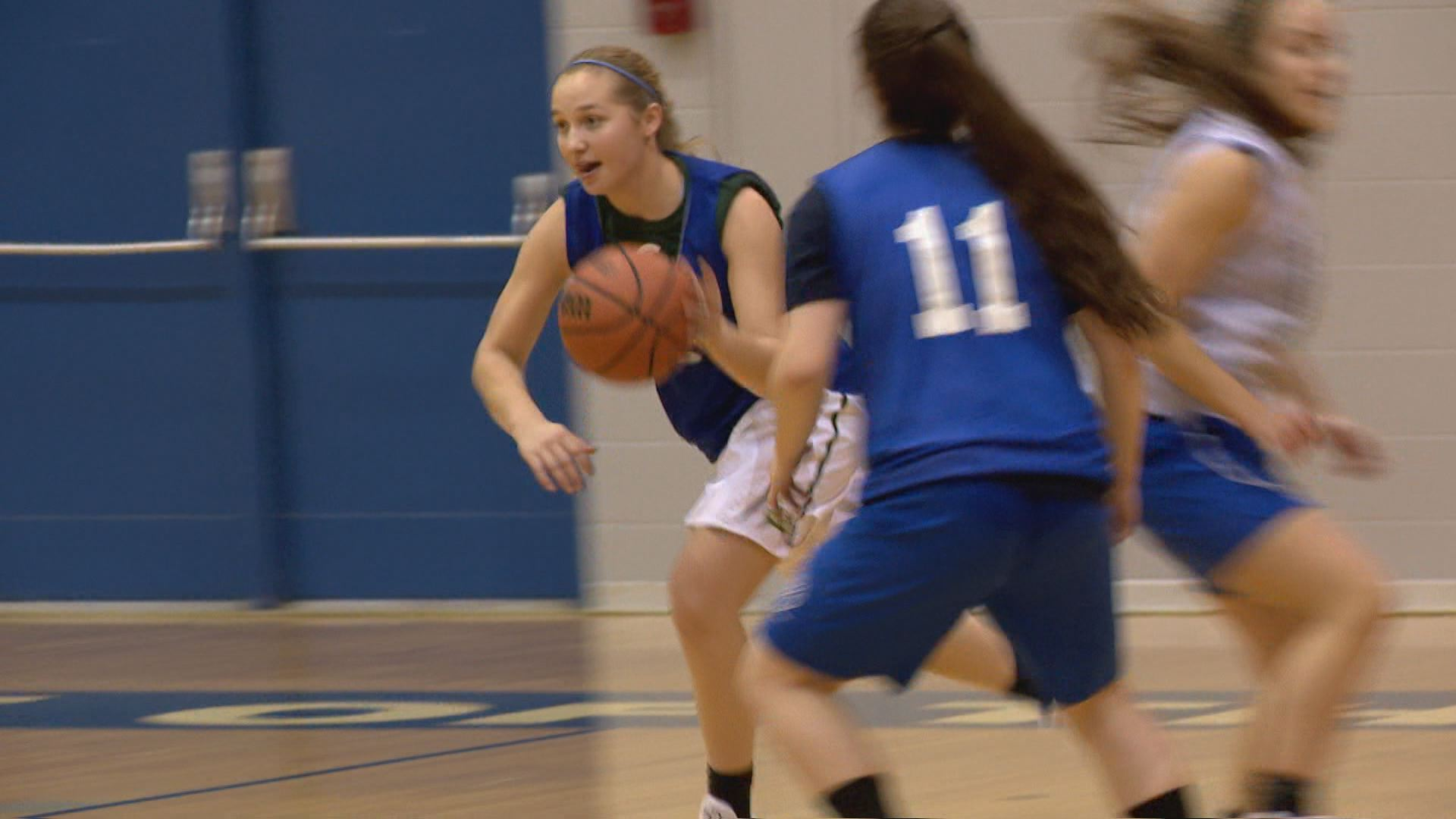 Marian's Meghan Urbanski named Burger King Outstanding Student Athlete // WSBT 22 Photo