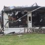 A home in Golden is a total loss after fire
