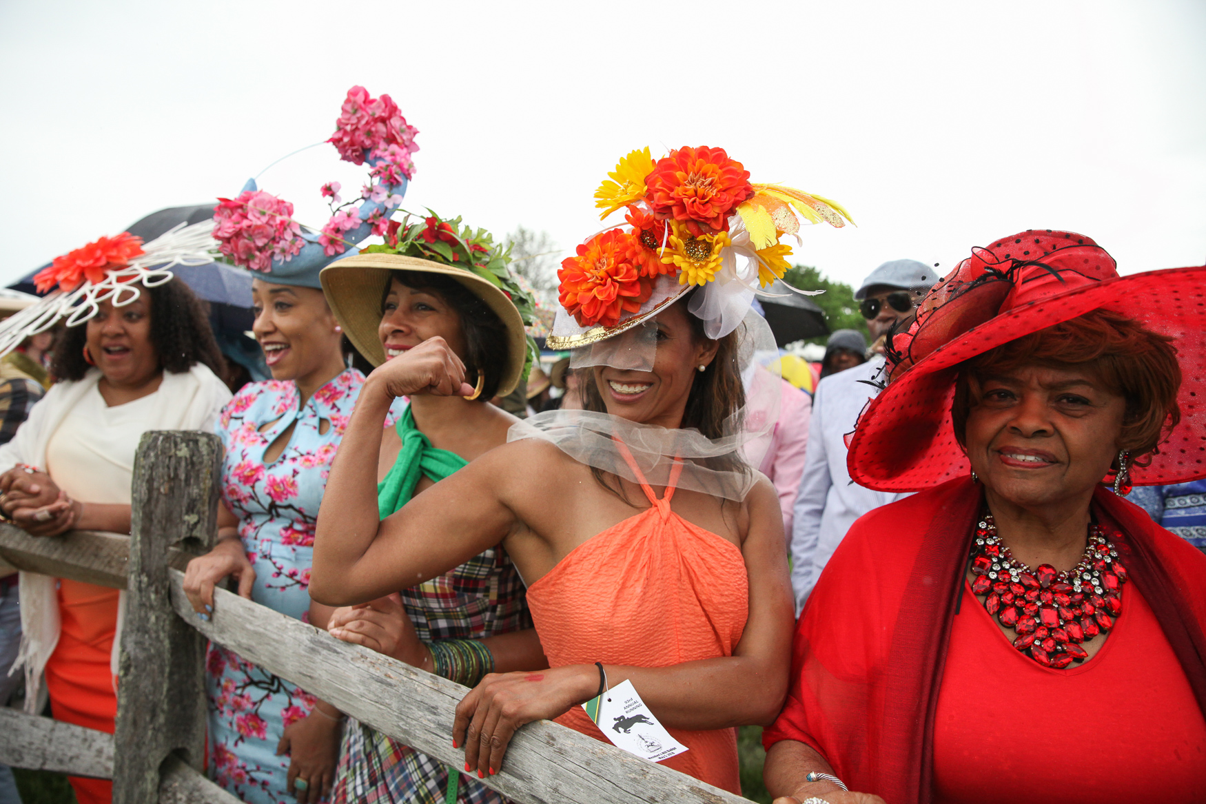 This row of hats was super bright and lovely.{ } (Amanda Andrade-Rhoades/DC Refined)