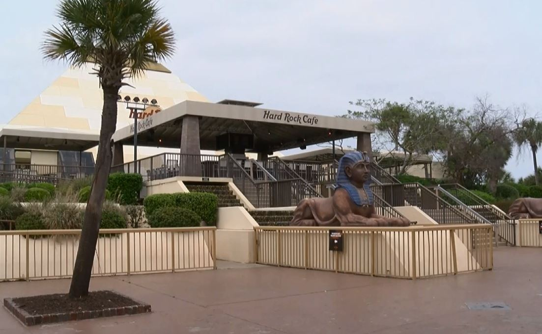 The Hard Rock Cafe Pyramid At Broadway Beach That Could Soon Be Demolished To