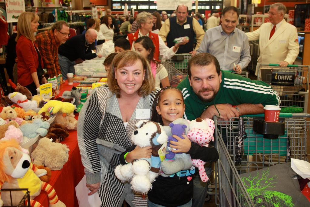 The Christmas for Kids Foundation helps more than 200 children check off items on their wish lists. Photo courtesy Christmas for Kids Foundation