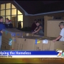 Kids sleep in boxes outside to raise money for homeless shelter