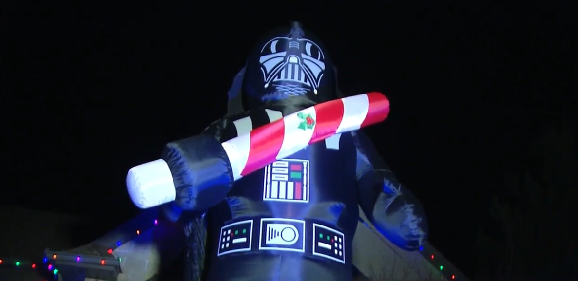 It's a Christmas tradition that all started with one family's love of Star Wars. (WICS)