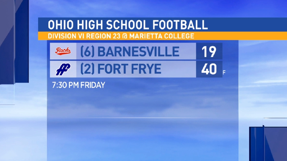 11.11.16 Highlights: Barnesville vs Fort Frye