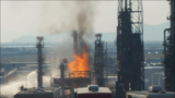 Health department monitoring air after fire at Davis County refinery