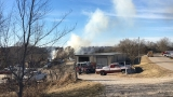 Brush fire burns out of control in Cole County
