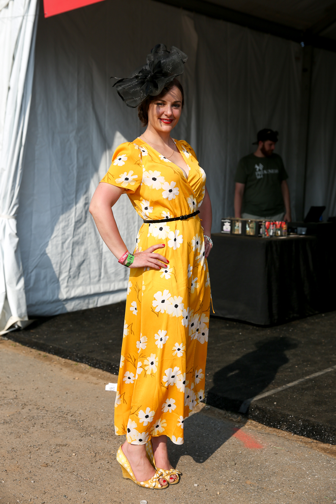 To be fair, official cocktail of Preakness is the Black Eyed Susan, a yellow flower. This is a sweet take on the theme.{ }(Amanda Andrade-Rhoades/DC Refined)