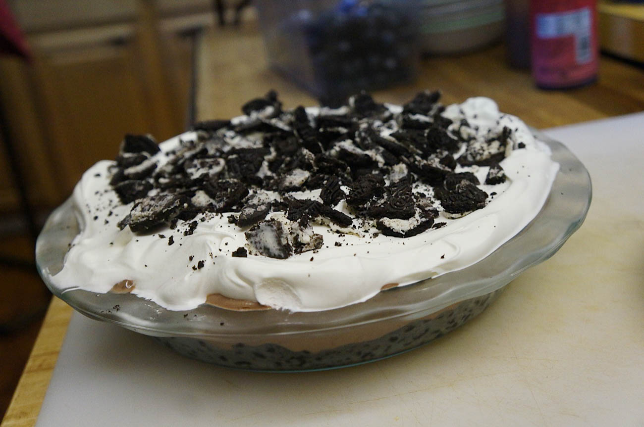 Homemade Oreo pie{&nbsp;}/ Image courtesy of Jane's Saddlebag // Published: 4.16.19<p></p>