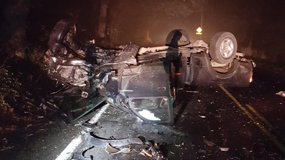 Crash on Highway 213 near Molalla injures two   KVAL