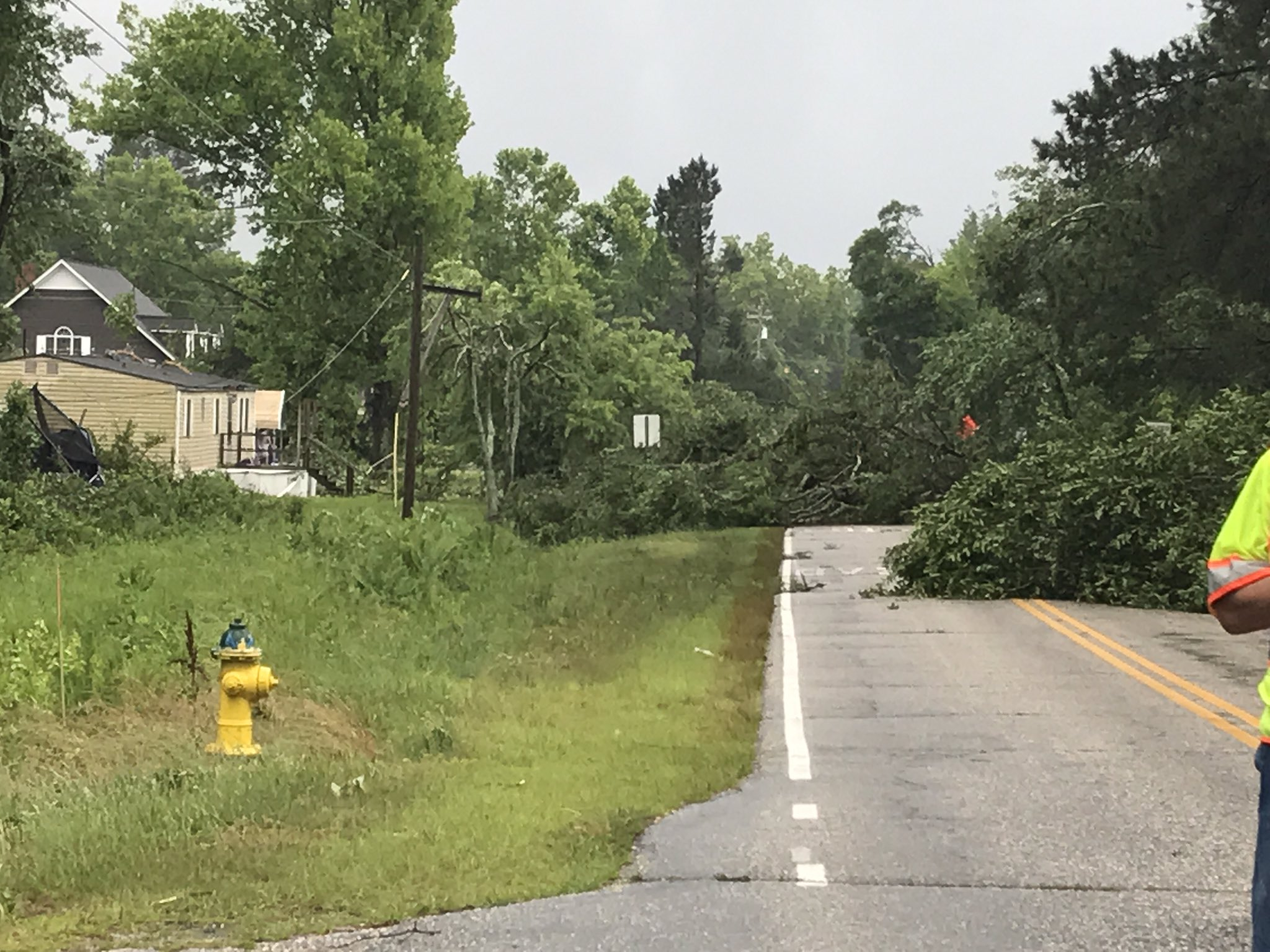 North Gray Street in Autryville (WTVD photo)