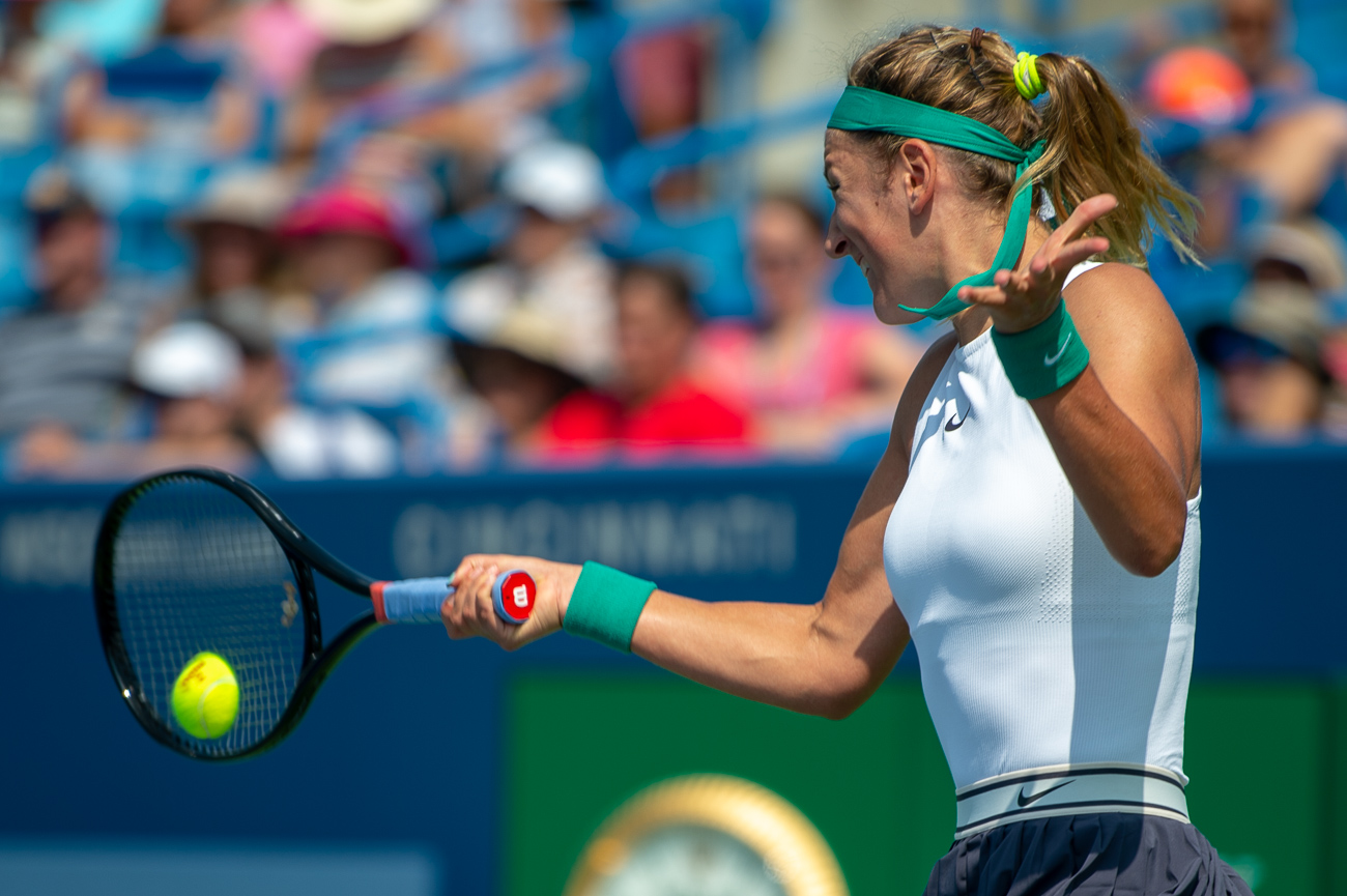 Victoria Azarenka{ }/ Image: Chris Jenco // Published: 8.14.18