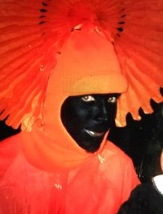 Chris Cornell dressed as 'Black Hole Sun'. (Image: Ann Wilson)