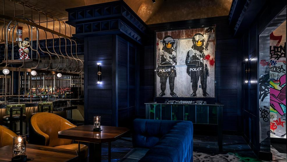 Enjoy drinks next to an original Banksy at new Las Vegas restaurant