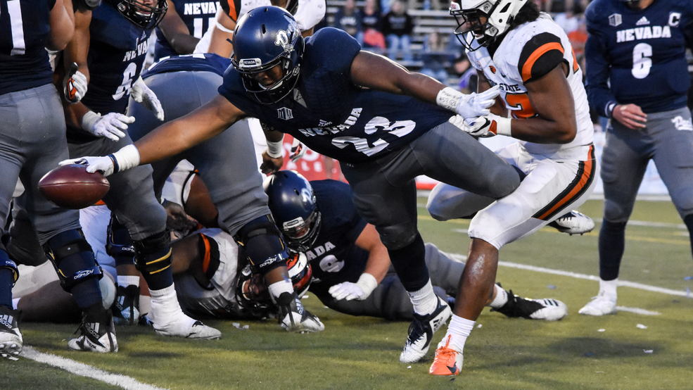 Nevada football lands five games on ESPN's family of networks