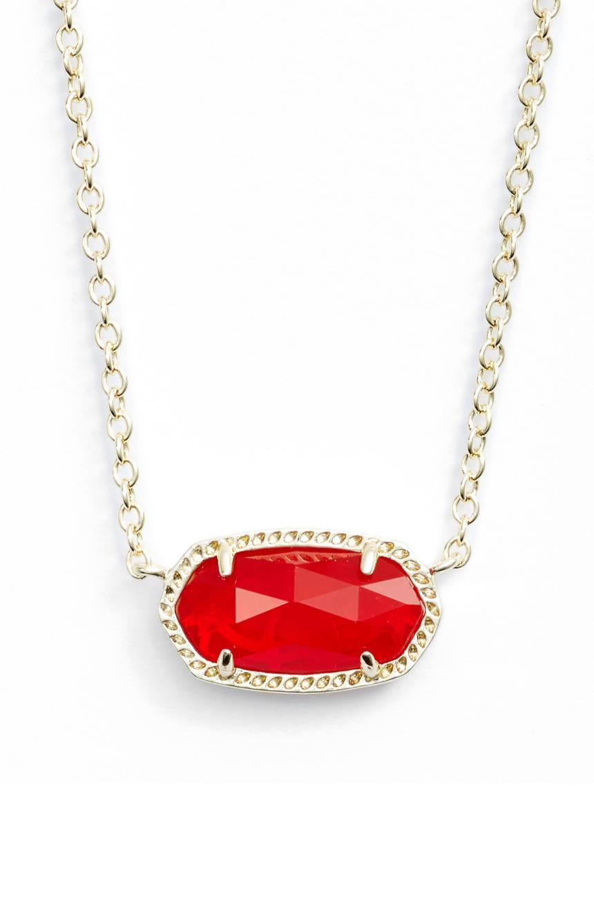 Kendra Scott Elisa Birthstone Pendant Necklace from Nordstrom // Price: $50 // (Nordstrom)<p></p>