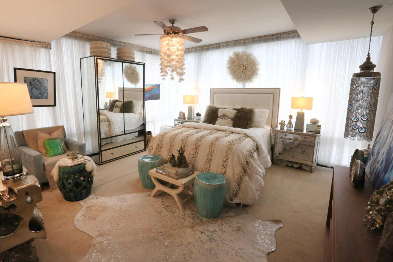 Ashley's bedroom is also enviable.(Amanda Andrade-Rhoades/DC Refined)