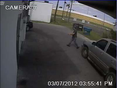 Surveillance cameras captured the images of carjacking suspects // Source: McAllen PD