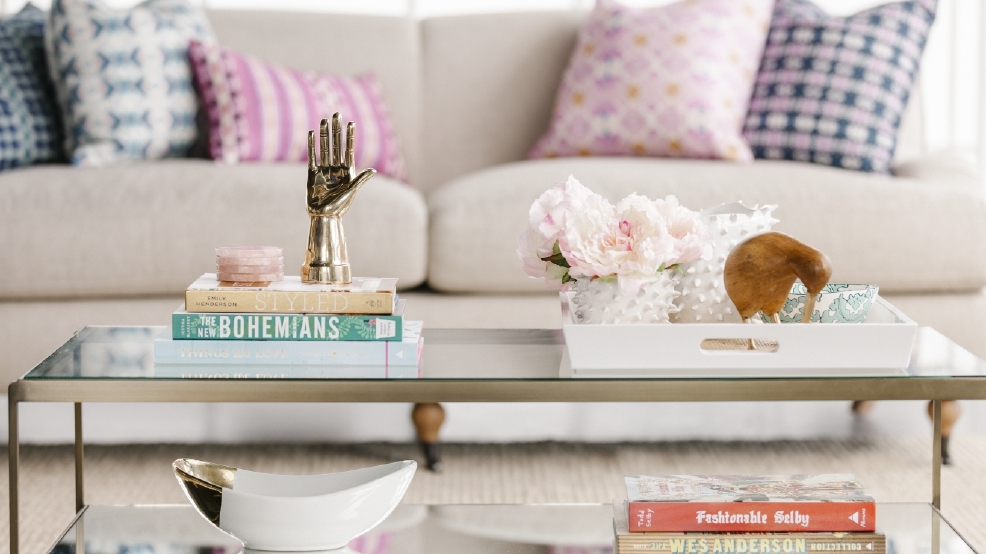 Styling the perfect coffee table for spring DC Refined