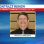 Superintendent's contract renewed despite allowing sex offender to volunteer