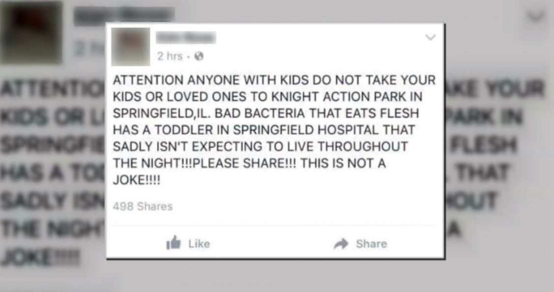Knight's Action Park says, after thousands of shares on that post in just a few hours, the damage has been done. (WICS)